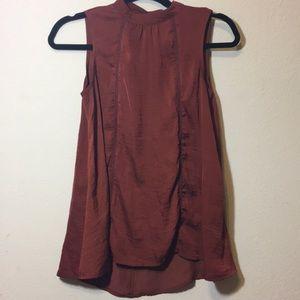 Mossimo women's sleeveless top Sz s/ Silky